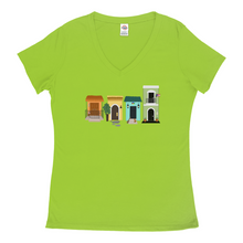 Load image into Gallery viewer, PR Casitas Flag VNeck T-Shirts