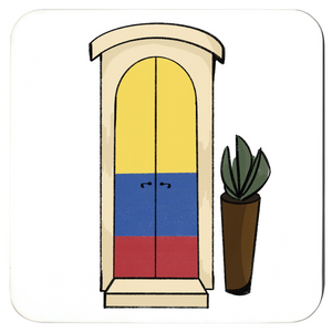 Colombia Door Coasters