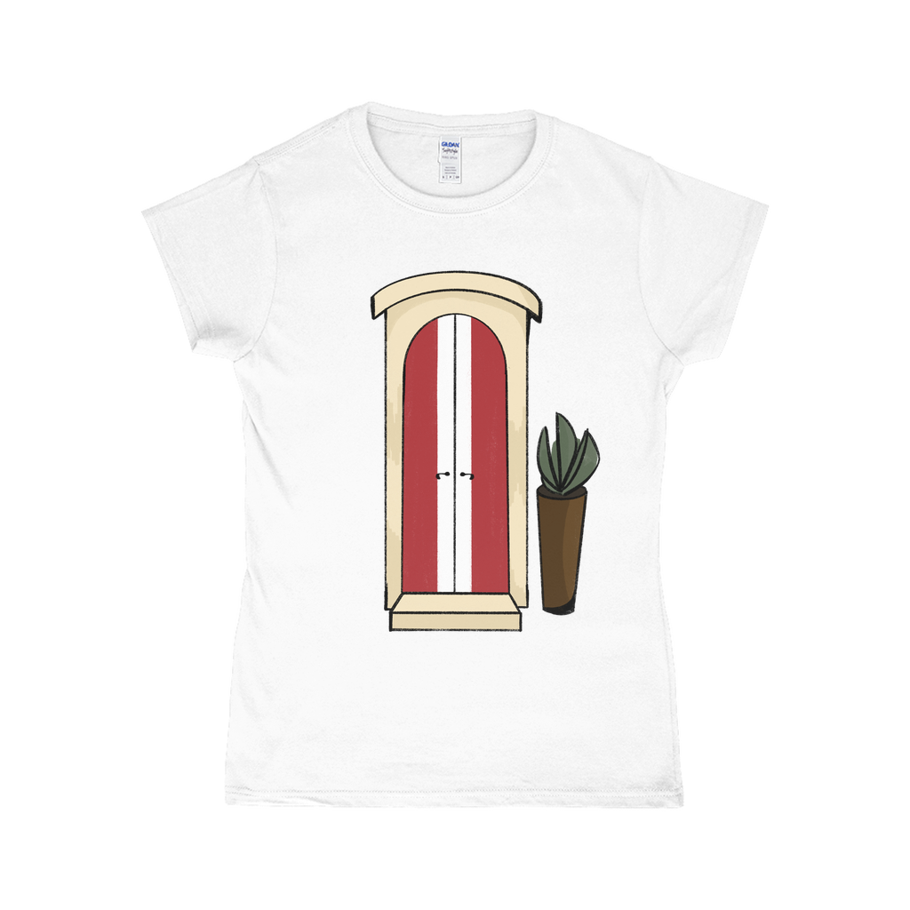 Peru Flag -Door T-Shirts