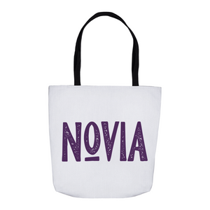 Novia Tote Bag - Purple