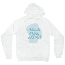 Load image into Gallery viewer, Make Jefa Moves Blue Hoodies (No-Zip/Pullover)