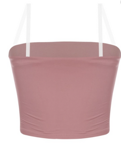 Alex Top (Mauve Clear Straps)