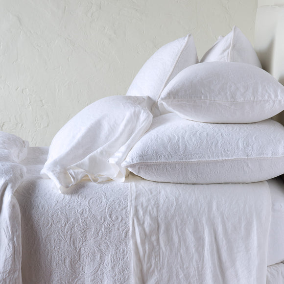 Madera Luxe Standard Pillowcase - Winter White
