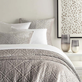 Parisienne Velvet Grey Quilt Queen