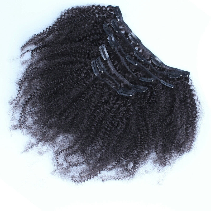 Mongolian Kinky Curly Clip In Extensions Delish Lengths Hair Beautique