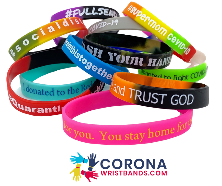 Coronawristbands.com Launched to Raise Money for Charities, Wristbands for Charities- Powered by Zacuto