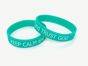 Small Size- Keep Calm and Trust God