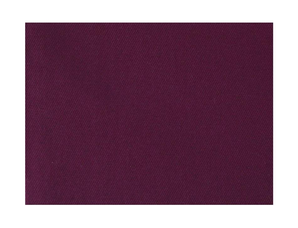 organic cotton twill fabric in cherry