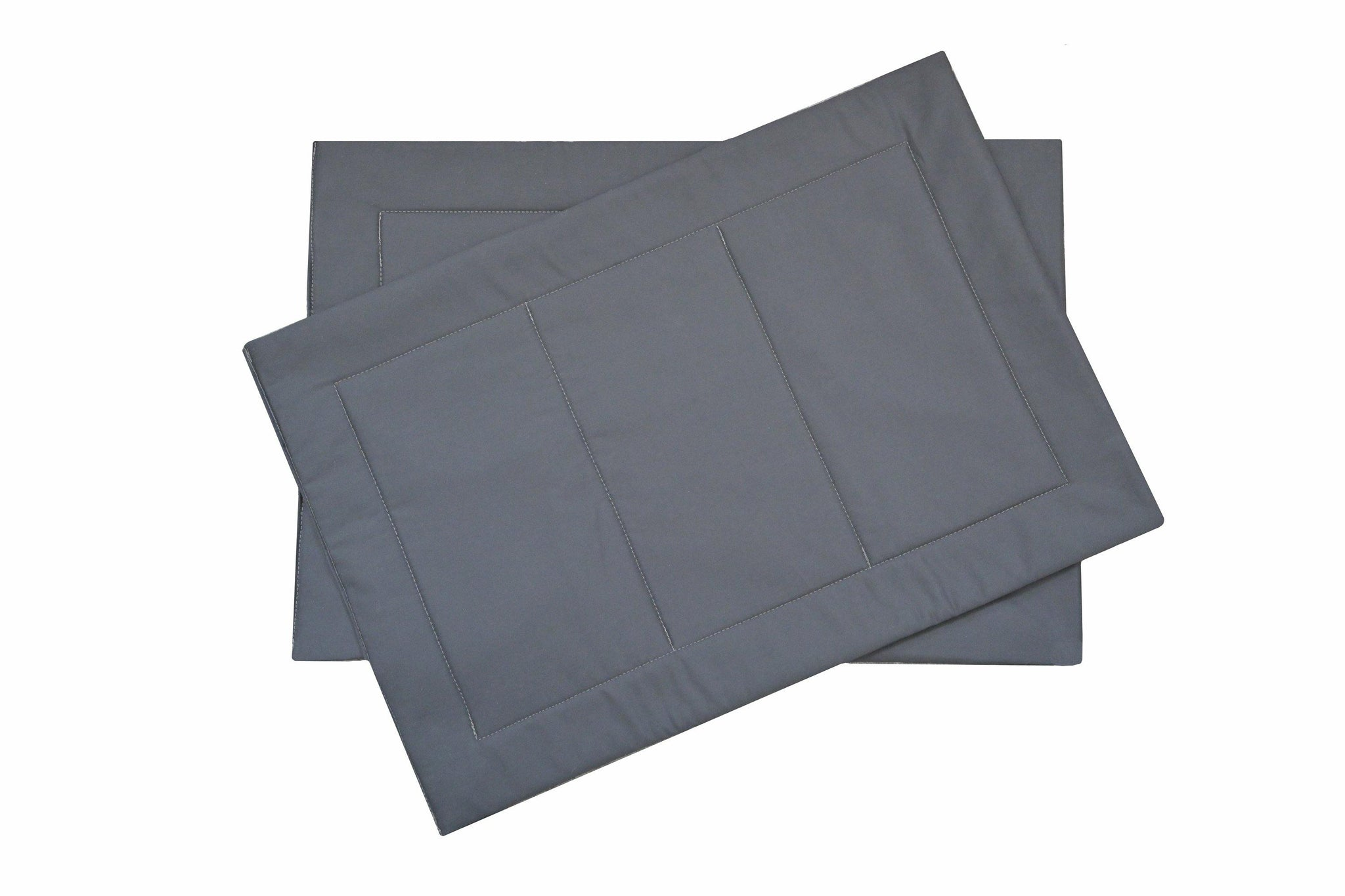 charcoal grey crate pads for dogs