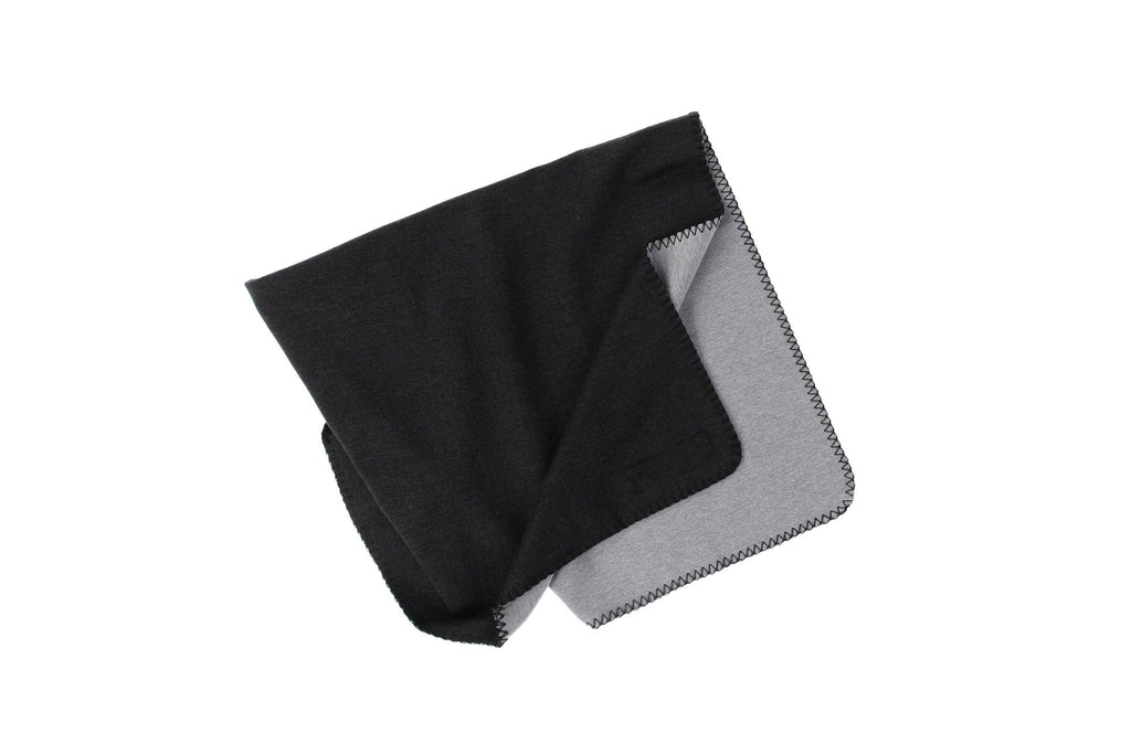 two tone grey blanket