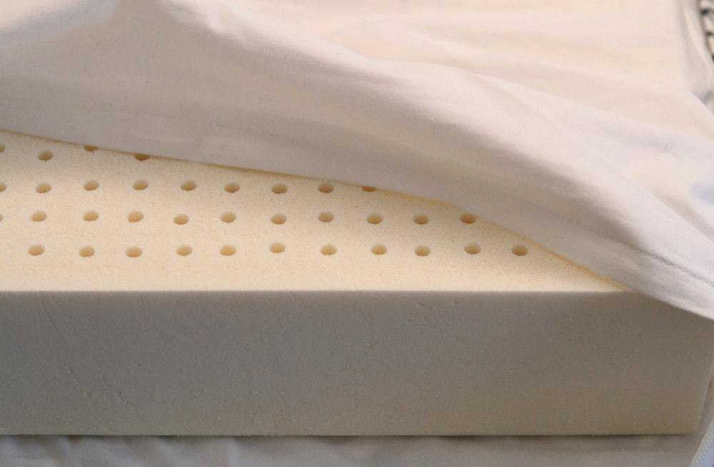talalay latex orthopedic dog bed close up