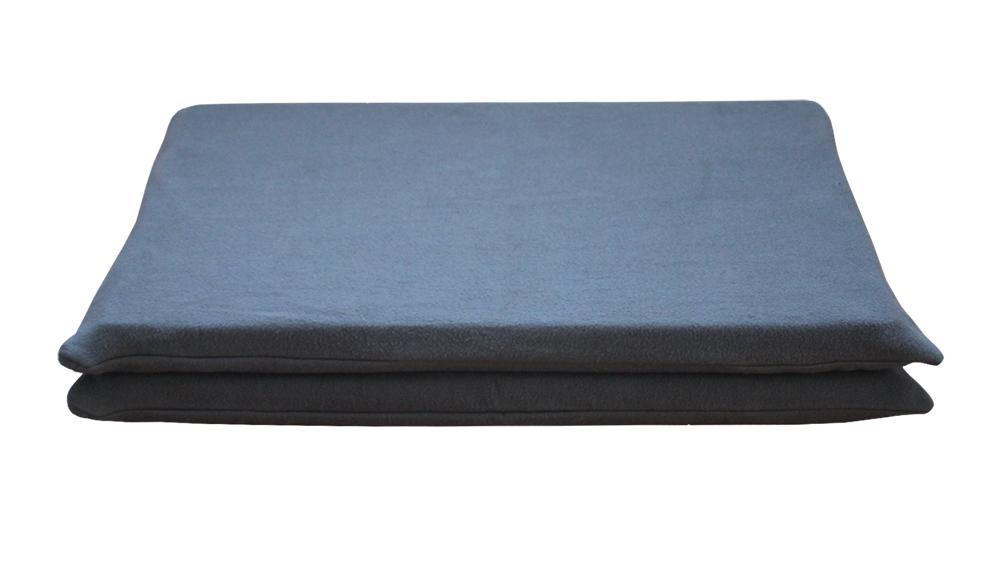 Dog MAT Cover, Charcoal Fleece - All Natural Dog Beds