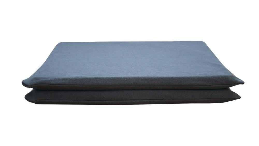 Dog MAT Cover, Charcoal Fleece