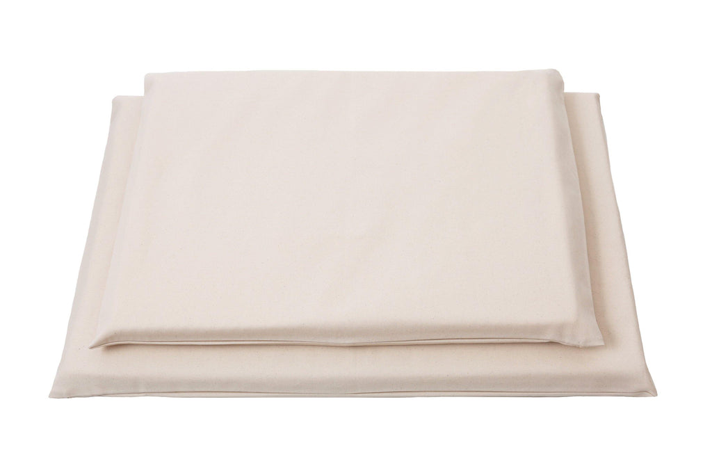 canvas natural beige organic dog mat
