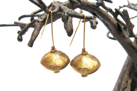 Ethiopian Brass Earrings