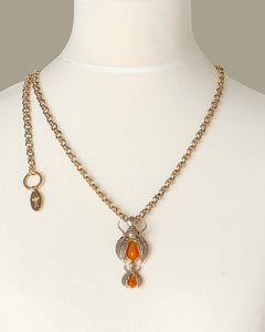 Gold Scarab Luxury Necklace
