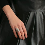 Load image into Gallery viewer, Silver Swan Luxury Ring