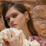 Load image into Gallery viewer, Shield Luxury Earrings