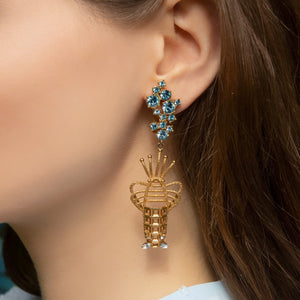 Lobster Clip Luxury Earrings