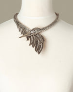 Load image into Gallery viewer, Swan Costume Statement Necklace