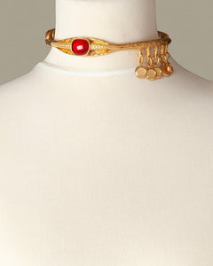 Ruby Eye Luxury Necklace