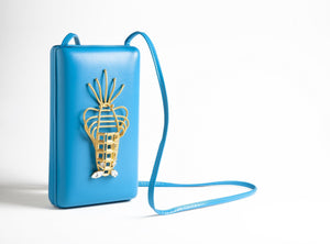 Blue Lobster Luxury Handbag