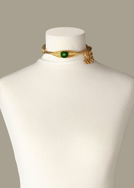 Emerald Eye Luxury Necklace