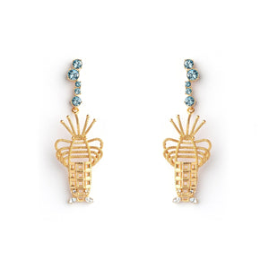 Lobster Pierced Luxury Earrings