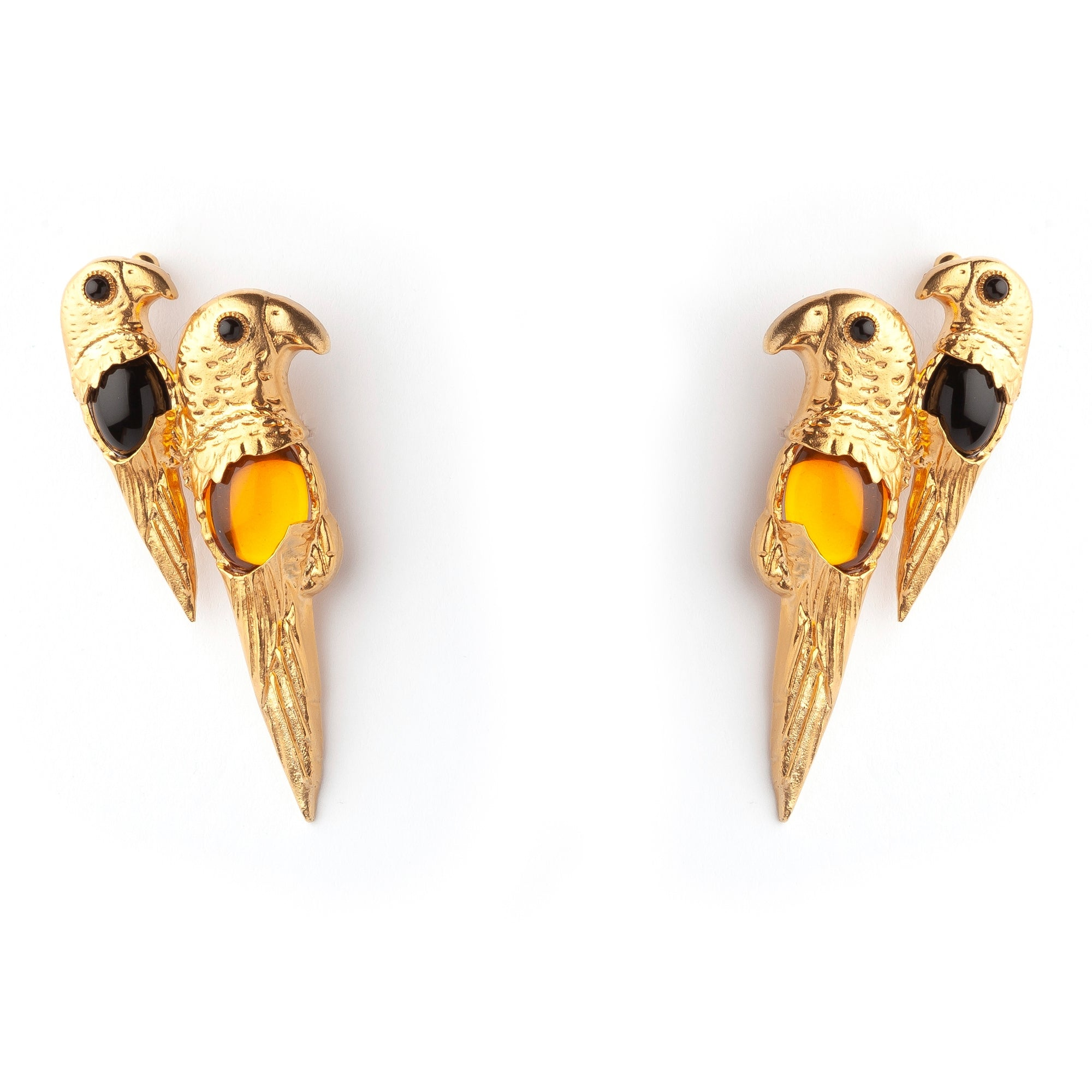 Parrot Luxury Earrings