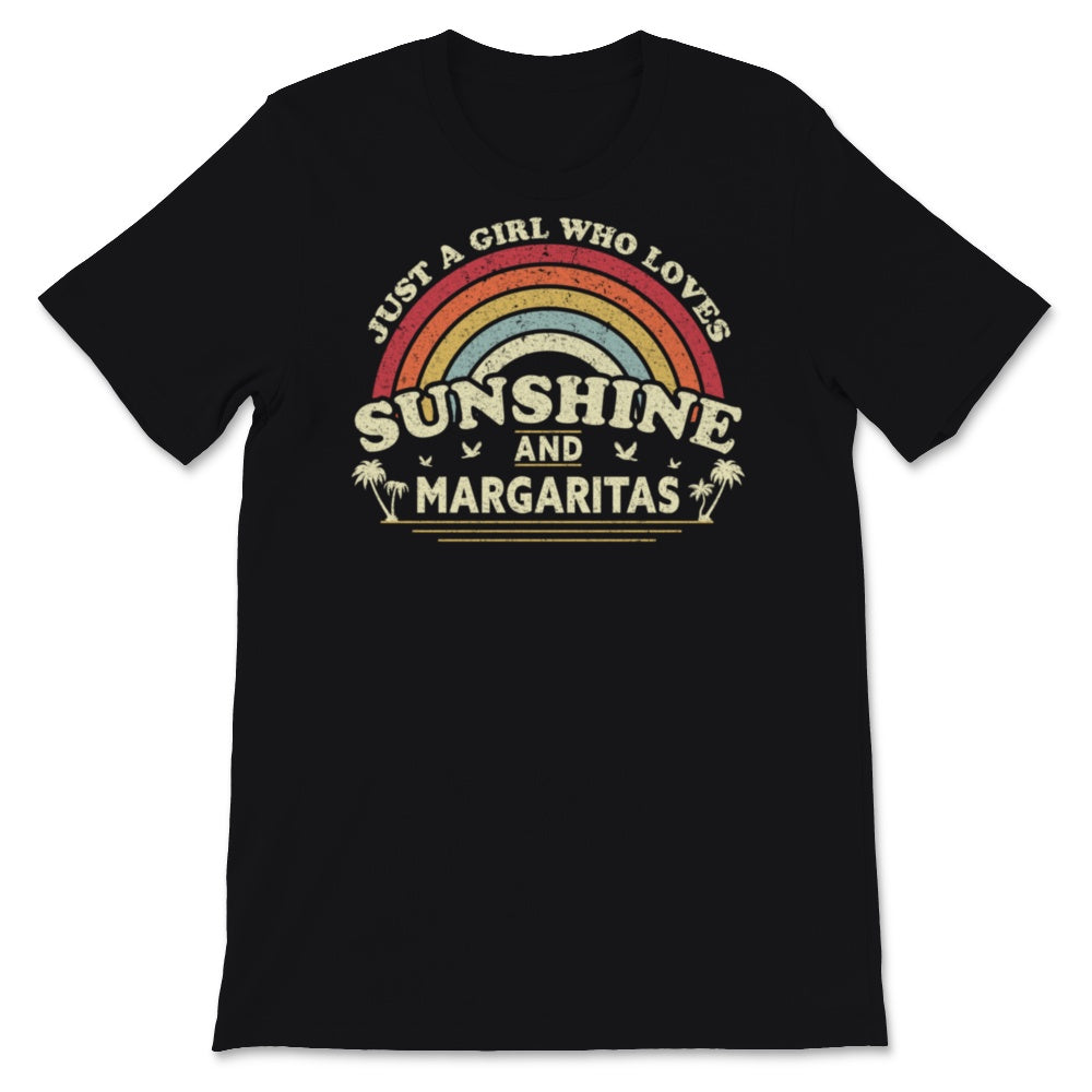 Margarita print. A Girl Who Loves Sunshine And Unisex T-Shirt