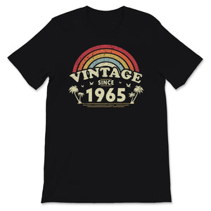 Vintage Since 1965, Birthday Gift For Men And Women, Unisex T-Shirt