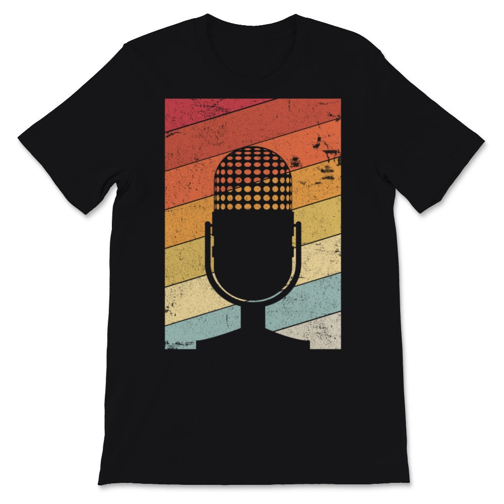 Singing Product. Retro Style Singer Print Unisex T-Shirt