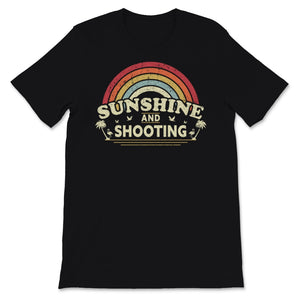 Sunshine, Shooting print for Men or Women. Retro, Unisex T-Shirt