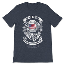 Load image into Gallery viewer, Space Force Graphic. Retro Style Design Premium Unisex T-Shirt