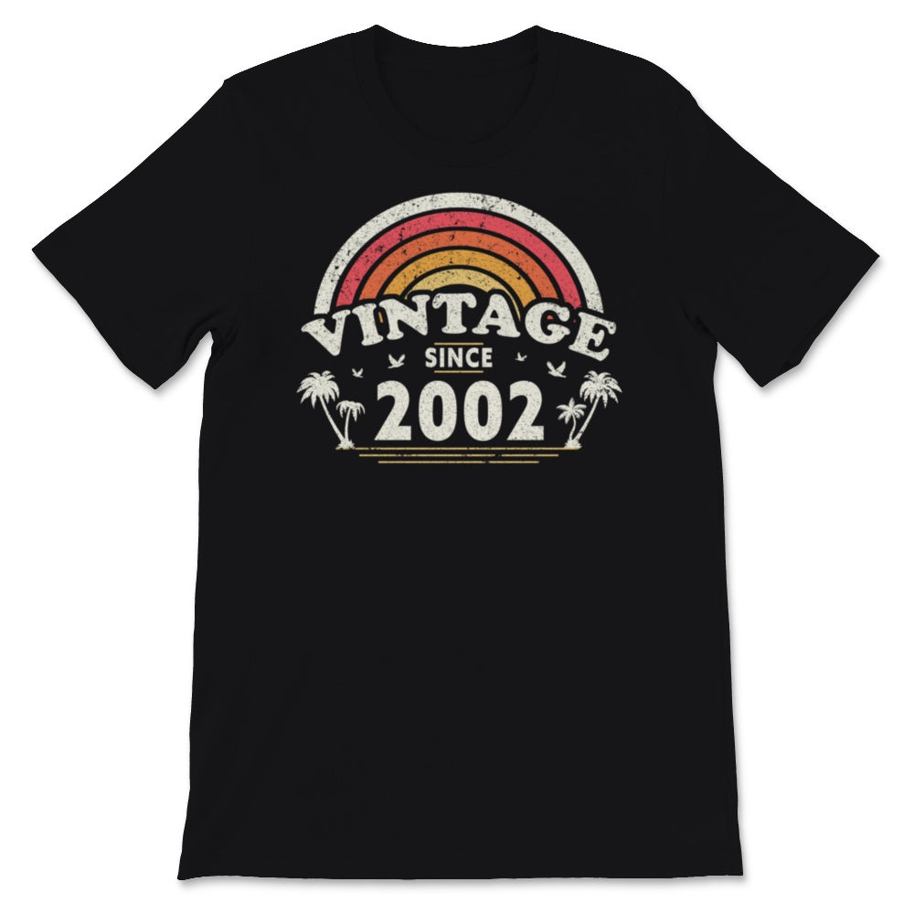 18th Birthday Gift For Men And Women, Vintage Since Unisex T-Shirt