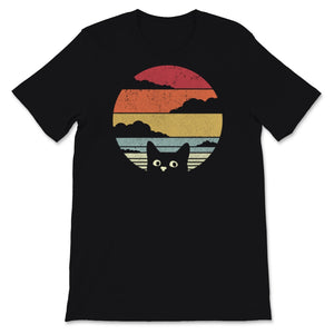 Cat Product. Retro Style Print Unisex T-Shirt