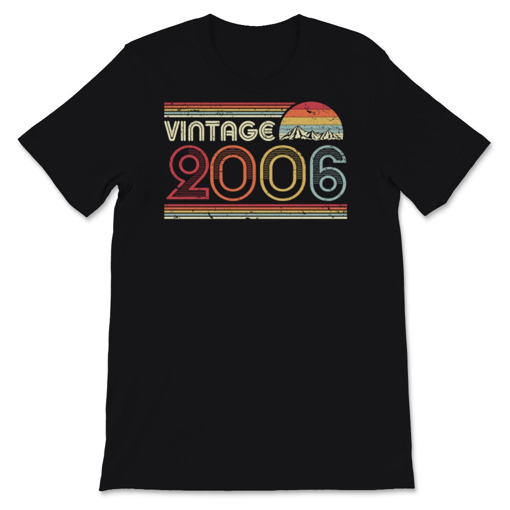 2006 Vintage Graphic, Birthday Gift Tee. Retro Style Unisex T-Shirt