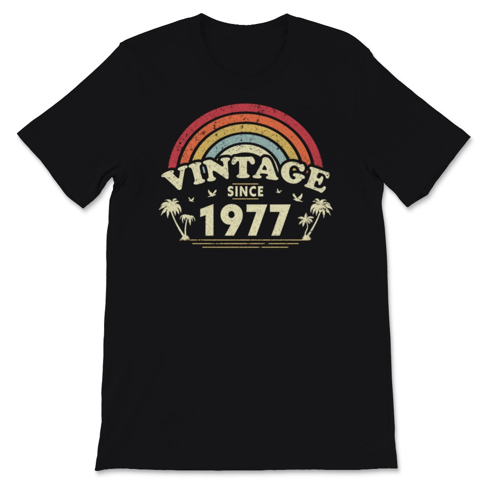Vintage Since 1977, Birthday Gift For Men And Women, Unisex T-Shirt
