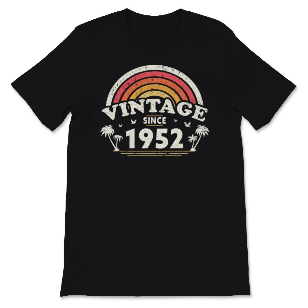 Vintage Since 1952, Birthday Gift For Men And Women, Unisex T-Shirt