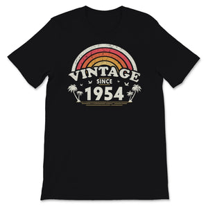 Vintage Since 1954, Birthday Gift For Men And Women, Unisex T-Shirt