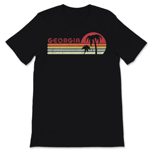 Georgia Product. Retro Style GA, USA Print Unisex T-Shirt
