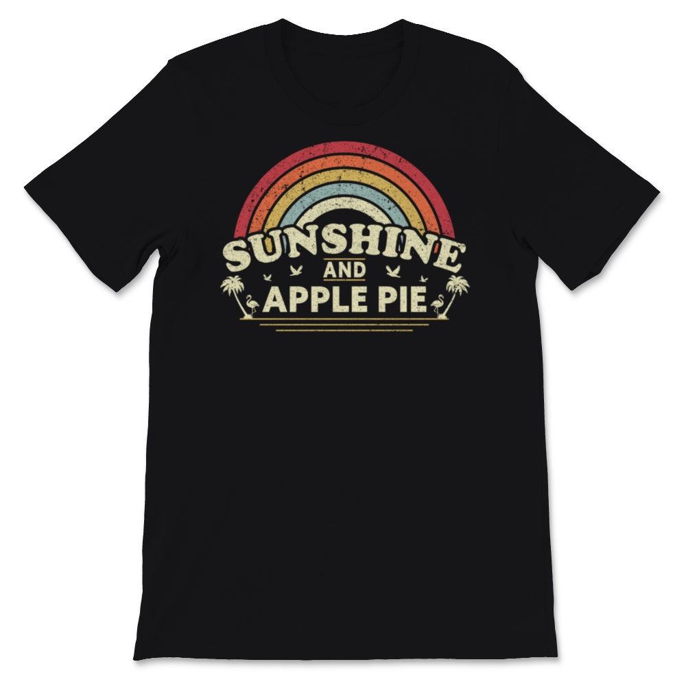 Apple Pie product for Men and Women. Retro, Country Unisex T-Shirt