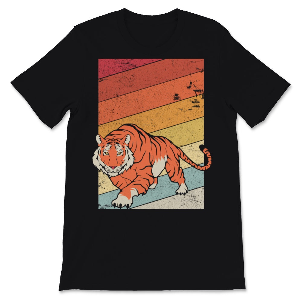 Tiger Design. Retro Style Product Unisex T-Shirt