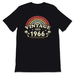 Vintage Since 1966, Birthday Gift For Men And Women, Unisex T-Shirt