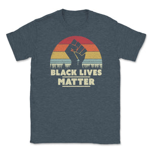Black Lives Matter, Power Fist Unisex T-Shirt