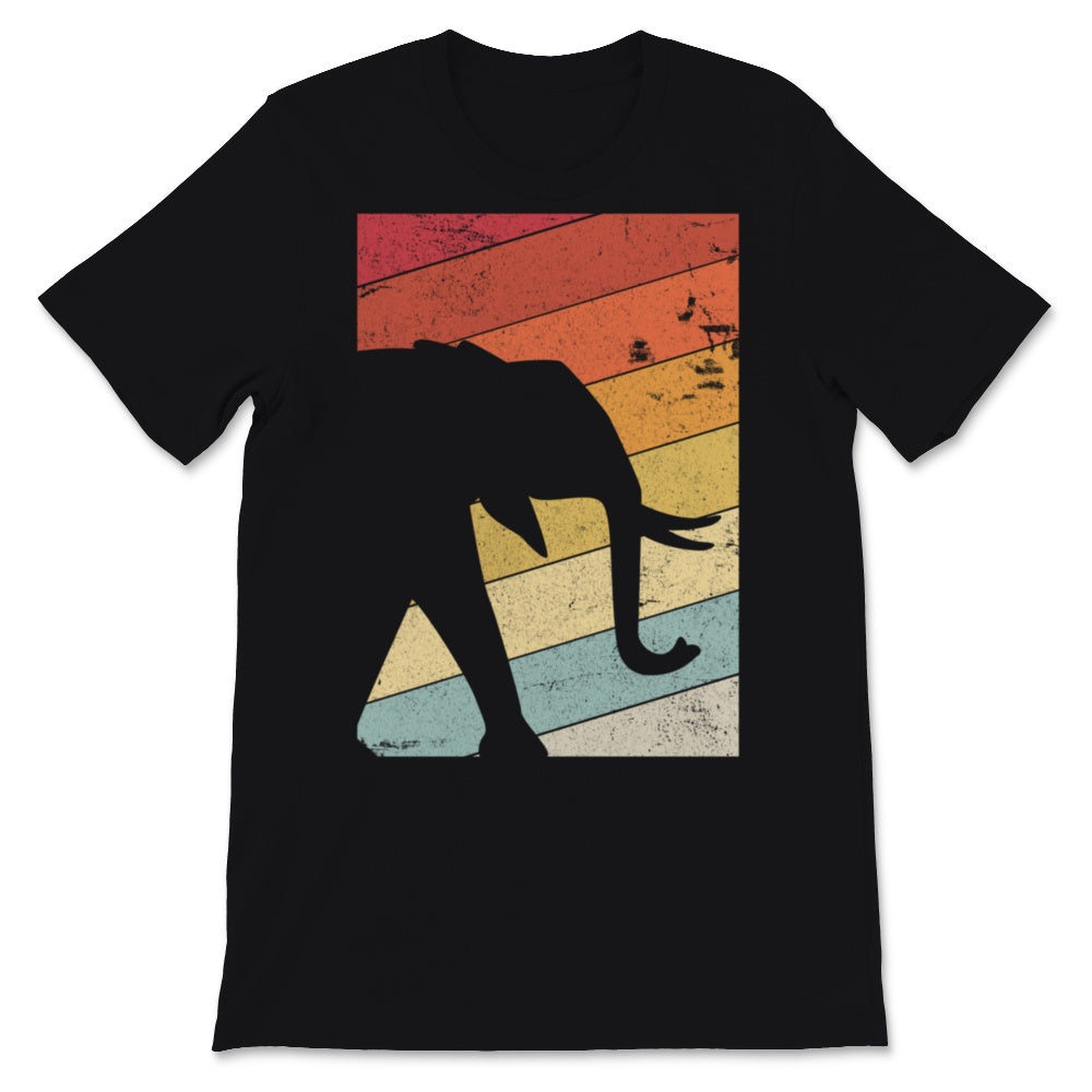 Elephant Design. Retro Style Product Unisex T-Shirt