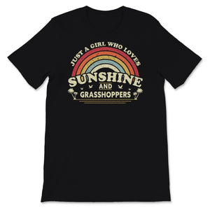 Grasshopper product. Girl Who Loves Sunshine And Unisex T-Shirt