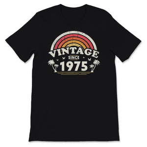 Vintage Since 1975, Birthday Gift For Men And Women, Unisex T-Shirt