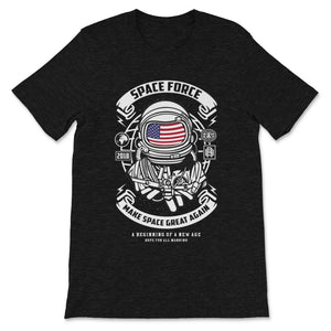 Space Force Graphic. Retro Style Design Premium Unisex T-Shirt
