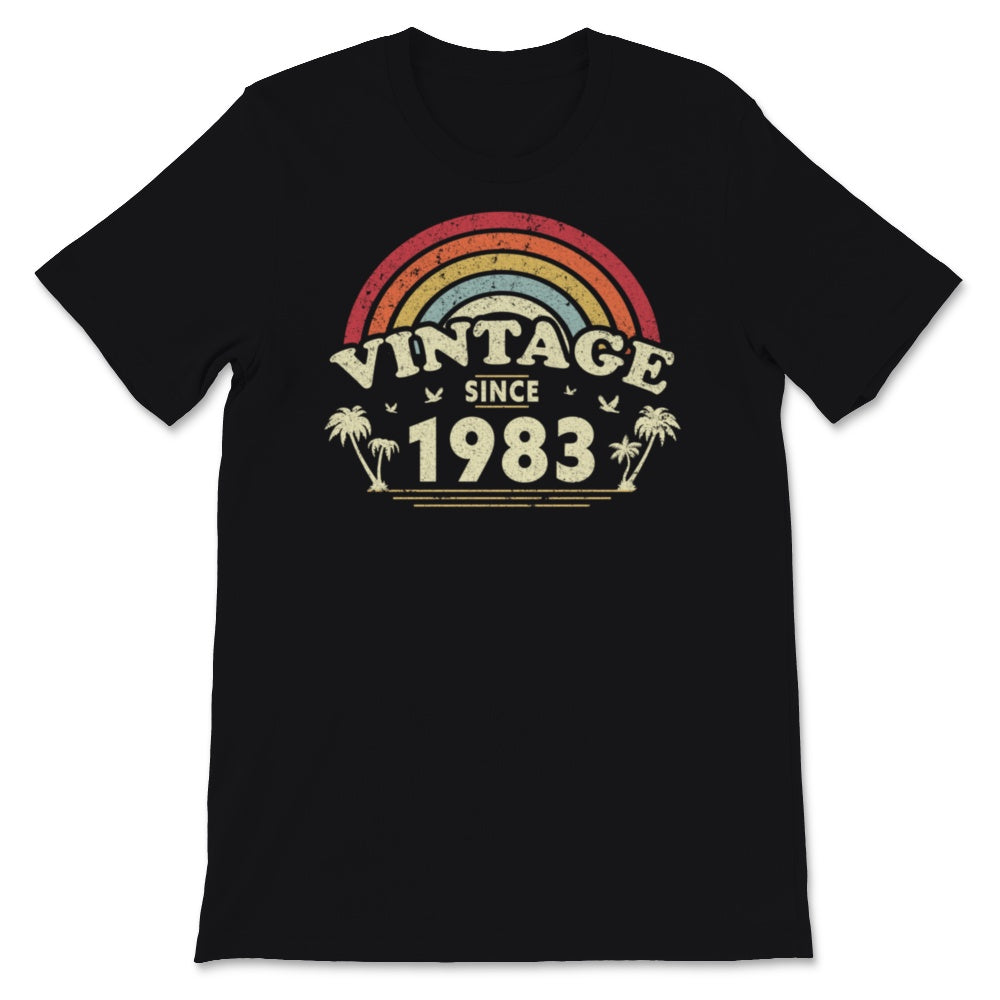 Vintage Since 1983, Birthday Gift For Men And Women, Unisex T-Shirt